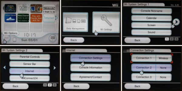 How to connect you wii to the internet